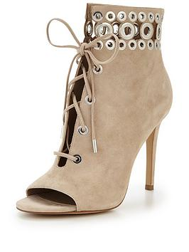Kendall & Kylie Kendall &Amp Kylie Giada Lace Up Shoe Boot