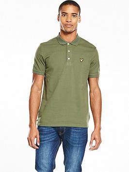 Lyle & Scott Lyle &Amp Scott Garment Dye Polo
