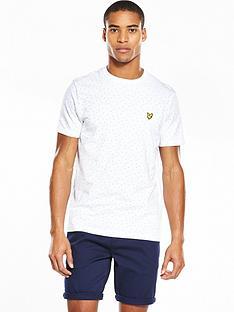 lyle-scott-lyle-amp-scott-mini-square-dot-t-shirt