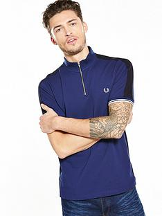 fred-perry-zip-neck-polo