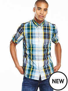 fred-perry-fred-perry-bright-madras-short-sleeve-shirt