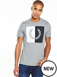 fred-perry-split-laurel-wreath-t-shirt