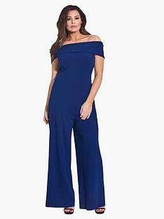 jessica-wright-bardot-jumpsuit-navy