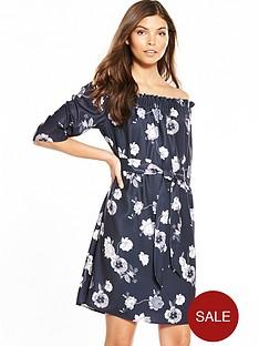 selected-femme-rosanna-34-off-shoulder-dress