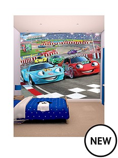 walltastic-car-racers-wallpaper-mural