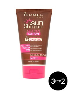 rimmel-sunshimmer-lotion-with-chia-oil-medium-dark-150ml