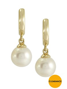 love-gold-9ct-gold-pearl-drop-earrings