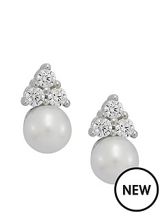love-pearl-9ct-white-gold-cubic-zirconia-pearl-earrings
