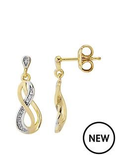 love-diamond-sterling-silver-gold-plated-diamond-set-infinity-earrings