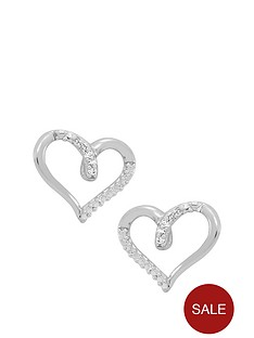 love-diamond-sterling-silver-diamond-set-heart-earrings