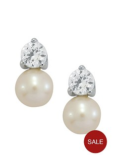 love-pearl-sterling-silver-created-white-sapphire-pearl-earrings