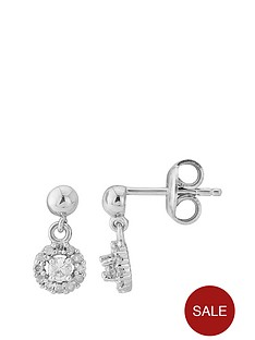 love-diamond-sterling-silver-diamond-halo-drop-earrings