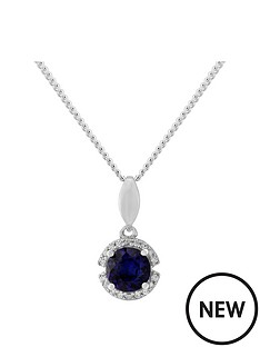love-gem-sterling-silver-created-sapphire-and-cubic-zirconia-pendant