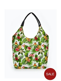 v-by-very-pineapple-printed-slouch-beach-bag