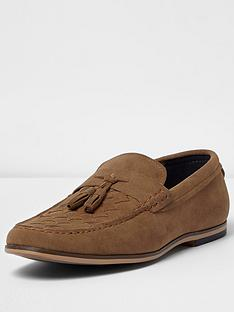 river-island-mens-woven-loafer