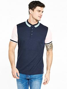 river-island-contrast-slim-fit-polo
