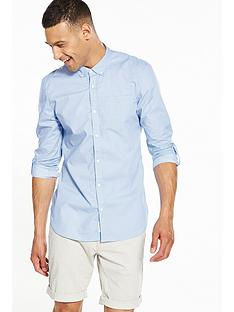 river-island-long-sleeve-slim-fit-stripe-shirt