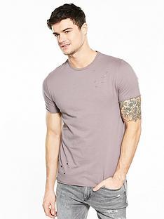 river-island-distressed-slim-fit-tshirt