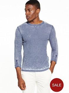 river-island-long-sleeve-slim-fit-textured-tshirt
