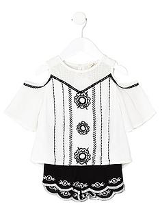 river-island-mini-girls-embroidered-top-and-short-set