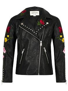 river-island-girls-black-floral-embroidered-biker-jacket
