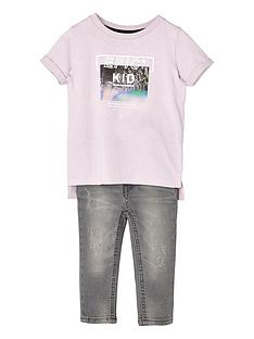 river-island-mini-boys-pink-epic-kid-t-shirt-and-jeans-set