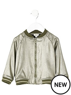 river-island-mini-mini-girls-metallic-bomber-jacket