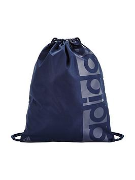 Adidas Boys Linear Logo Gym Bag