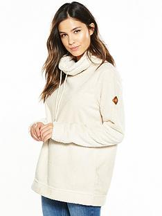 regatta-hermina-fluffy-overhead-fleece-cream