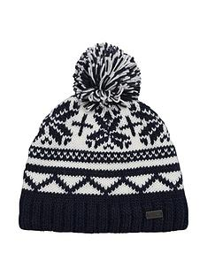 regatta-sleet-bobble-hat-navy
