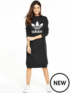 adidas-originals-trefoil-crew-dress-blacknbsp
