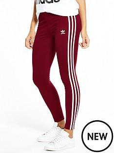 adidas-originals-3-stripe-leggings-burgundynbsp