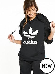adidas-originals-oversize-trefoil-hoodie-blacknbsp