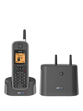 BT  Bt Bt Elements 1 Km Range Ip67 Rated Cordless Phone With Answer Machine And Nuisance Call Blocker