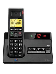 bt-bt-diverse-7150-plus-single-dect-phone-with-answer-machine-black