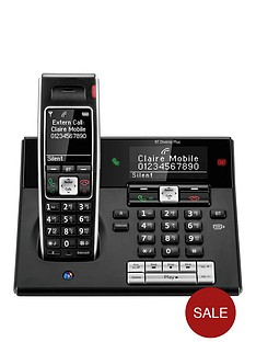 bt-bt-diverse-7460-plus-single-dect-phone-with-answer-machine-black