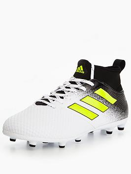 Adidas Mens Ace 17.3 Primemesh Firm Ground Football Boot  Dust Storm