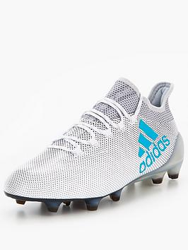 Adidas Mens X 17.1 Firm Ground Football Boot  Dust Storm