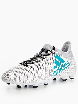 Adidas Mens X 17.3 Firm Ground Football Boot  Dust Storm