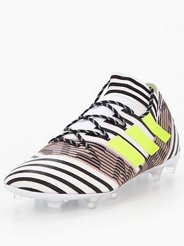 Adidas Mens Nemeziz 17.2 Firm Ground Football Boot  Dust Storm