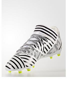 Adidas Junior Nemeziz 17.3 Firm Ground Football Boot  Dust Storm