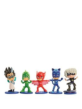 Pj Masks Collectible 5 Pack Figures
