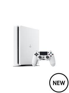 sony-ps4-500gb-white-slim-console-with-365-psn-subscription