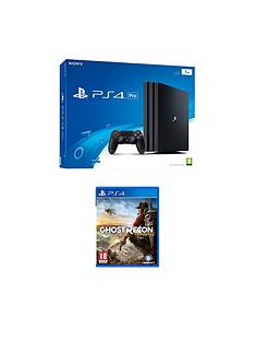 playstation-4-pro-console-with-tom-clancys-ghost-recon-wildlandsnbspplus-optional-extra-controller-andor-12-months-playstation-network
