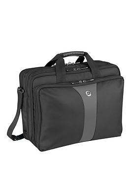 Wenger Wenger Legacy Triple Pocket Laptop Case Grey
