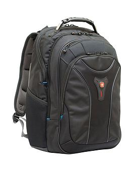 Wenger Wenger Carbon 17 Inch Macbook Pro Backpack Black