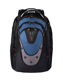 Wenger    Ibex 17 Inch Laptop Backpack With A Tablet /Ereader Pocket Blue
