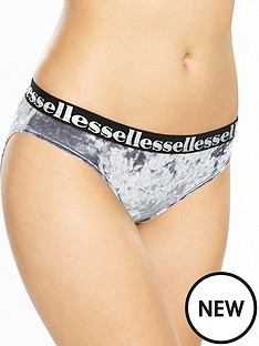 ellesse-bella-velvet-high-neck-brief