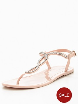 v-by-very-charlie-diamante-jelly-sandal-pink