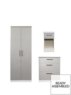 swift-montreal-3-piece-ready-assembled-package-ndash-2-door-wardrobe-3-drawer-chest-and-bedside-table
